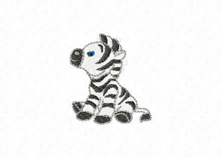 Cute little stuffed Zebra